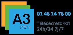A3COM Permanence téléphonique,Télésecrétariat médical, paramédical, PME 24h/24 7j/7