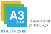 Accueil Téléphonique 24h24 7j7 A3COM