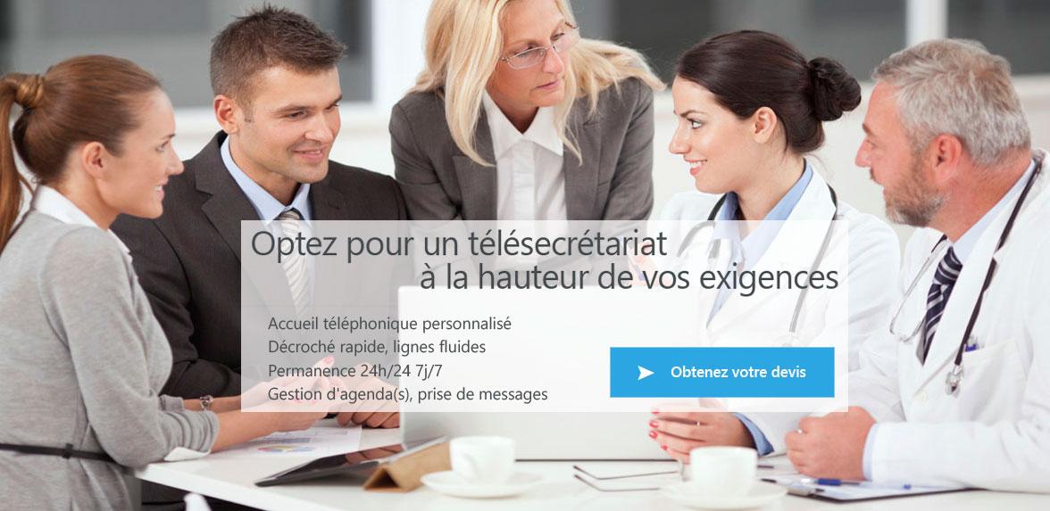 accueil téléphonique pour professions médical, juridique , entreprise, artisan